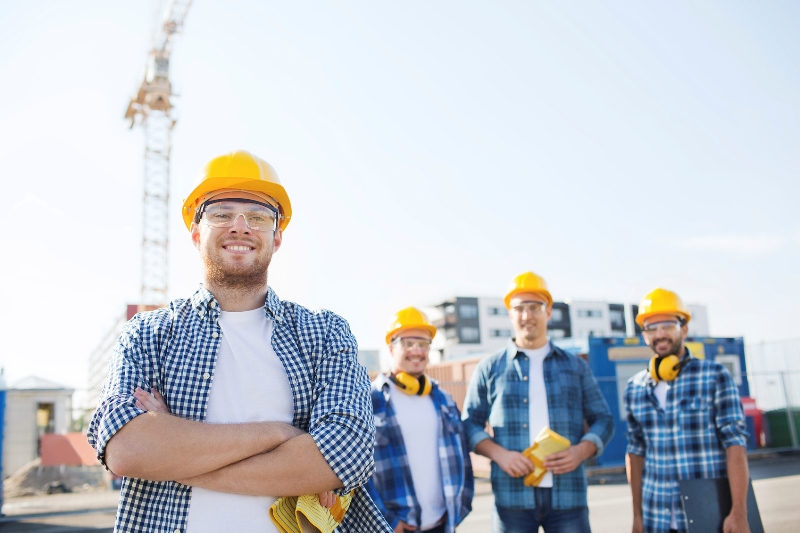 Young Construction Workers