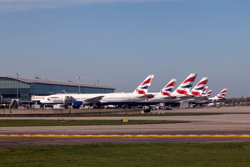 Heathrow Planes