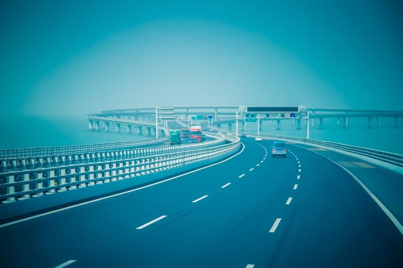 Qingdao Haiwan Bridge, China