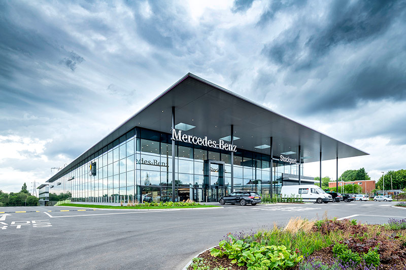 RG Group Stockport Mercedes