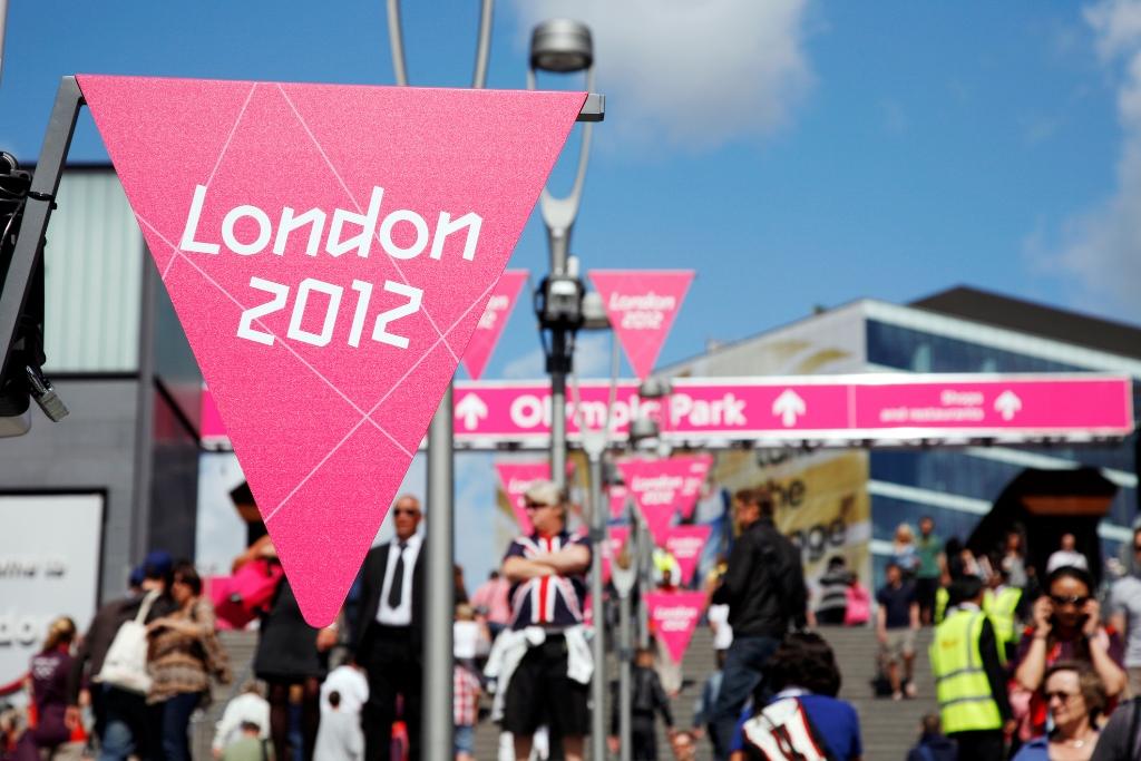 Londom 2012 Banners